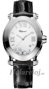 Chopard Happy Sport Oval Cuarzo Senoras Replica de reloj 278546-3001