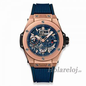 Hublot Big Bang MECA-10 King Gold Azul 45 414.OI.5123.RX