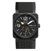Bell & Ross Aviation BR 03-51 GMT Carbon reloj