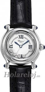 Chopard Happy Sport Classic Round 5 Floating Diamonds Senoras Replica de reloj 278245-3007