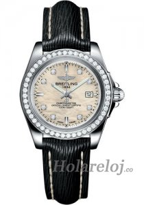 Breitling Galactic 32 Sleek Edition Steel/Diamantes A7133053/A801/208X/A14BA.1 Replicas