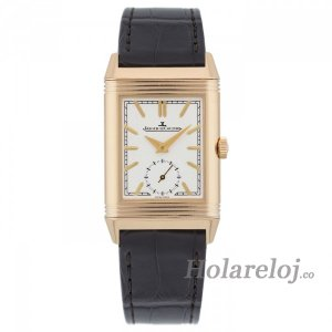 Jaeger LeCoultre Reverso Tribute Duoface Hombre Hand Wound Reloj 3902420