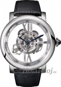 Rotonde de Cartier Astrotourbillon skeleton Replica reloj W1556250
