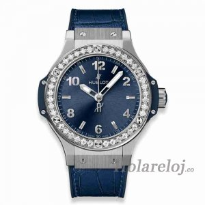 Hublot Big Bang Acero Azul Diamant 38 361.SX.7170.LR.1204