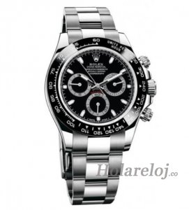 Rolex Cosmograph Daytona Negro Dial Inoxidable Acero Oyster 116500BKSO