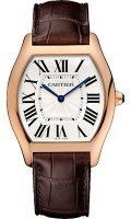 Cartier Tortue Large Pink Oro reloj WGTO0002