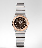 Omega Constellation Cuarzo 24MM mujer Relojes 123.20.24.60.63.001