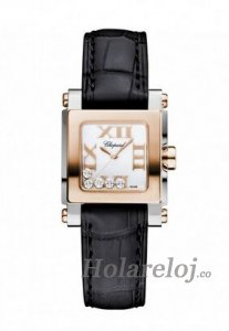 Chopard Happy Sport Square Mini Senoras Replica de reloj 278516-6001