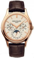 Patek Philippe Grand Complications Plata Dial 18kt Rose Gold 5140R-011