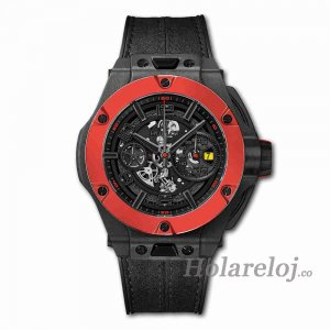 Hublot Big Bang Ferrari Unico Carbon rojo Ceramic 45 402.QF.0110.WR