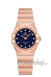 OMEGA Constellation oro sedna Diamantes 131.50.25.60.53.002 Replicas