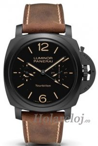 Panerai Luminor 1950 Tourbillon GMT Automatico Ceramica 48mm PAM00396