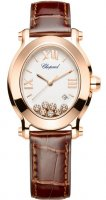 Chopard Happy Sport Oval cuarzo Senoras reloj 275350-5001