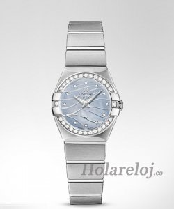 Omega Constellation Cuarzo 24MM mujer Relojes 123.15.24.60.57.001