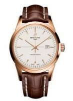 Breitling Transocean Red Gold R1036012/G722-croco-brown-folding