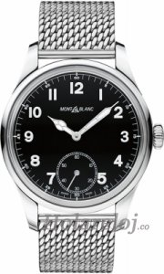 Montblanc 1858 Manual Small Second hombres reloj 112639