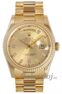 Rolex Day-Date II 218238-83218 Champagne dial