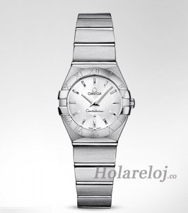 Omega Constellation Brushed Cuarzo Reloj 123.10.24.60.02.001