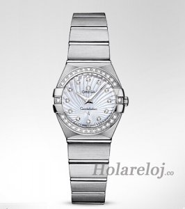 Omega Constellation Cuarzo 24MM mujer Relojes 123.15.24.60.55.002