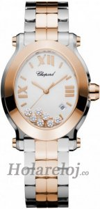 Chopard Happy Sport Oval Cuarzo Senoras Replica de reloj 278546-6003