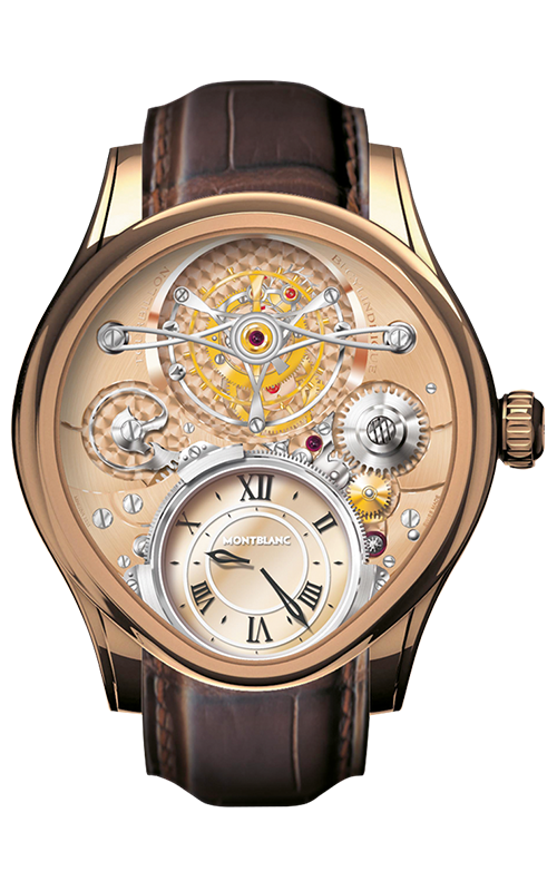 Montblanc Villeret 1858 High Complication Tourbillon Bi-Cylindrical reloj 106495