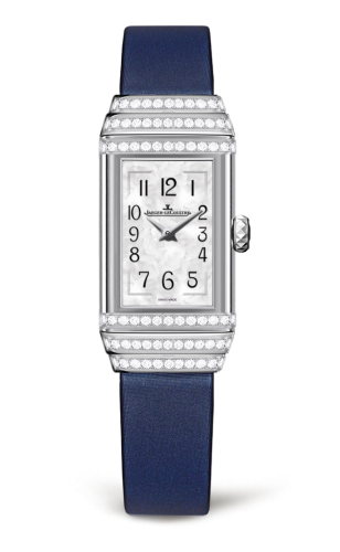 Jaeger-LeCoultre 3363401 Reverso One Joaillerie Oro blanco/Diamante/MOP