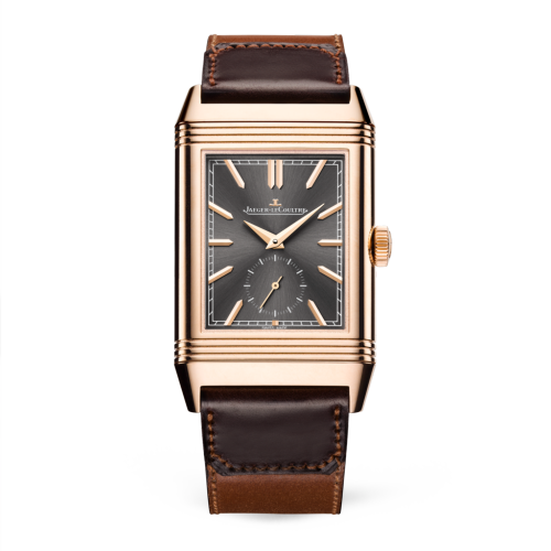 Jaeger-LeCoultre 396245 J Reverso Tribute Duoface Rosa Gold/Gris/Fagliano