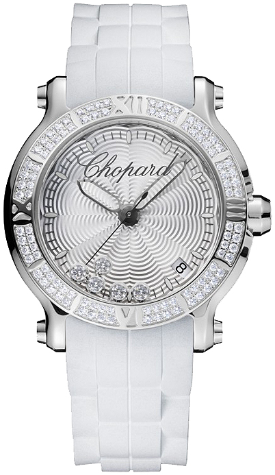 Chopard Happy Sport Round Cuarzo 36mm Senoras Replica de reloj 278551-3003